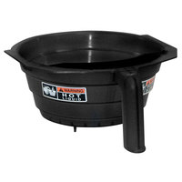 Bunn 29351.0001 Wide Black Plastic Funnel with Decals for OL, RL, OT & RT Coffee Brewers