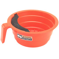 Bunn 20583.0006 Orange Plastic Funnel with Decals for Bunn Coffee Brewers - 7 1/8 inch