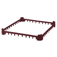 Vollrath 5230490 Burgundy Full-Size Open Extender for Vollrath Signature Glass Racks