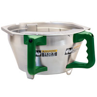 Bunn 45845.0003 Stainless Steel Funnel Assembly with Green Handle