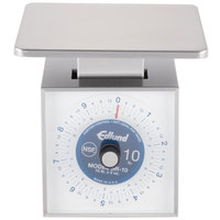 Edlund SR-10 OP Premier Series 10 lb. Mechanical Portion Scale with Oversized 7 inch x 8 3/4 inch Platfrom