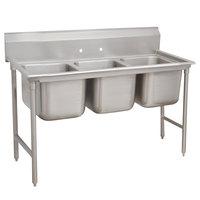 Advance Tabco 9-63-54 Super Saver Three Compartment Pot Sink - 68 inch