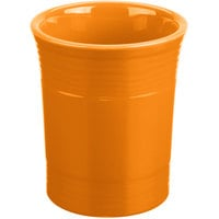 Homer Laughlin 447325 Fiesta Tangerine 6 5/8 inch Utensil Crock - 4/Case