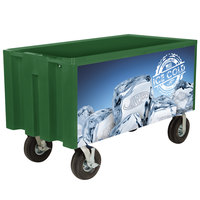 IRP Green Extra Large Super Arctic 080 Mobile 456 Qt. Cooler with Wheels
