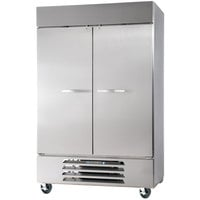 Beverage-Air HBR49-1-S Horizon Series 52 inch Bottom Mounted Solid Door Reach-In Refrigerator with LED Lighting