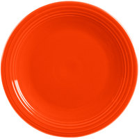 Homer Laughlin 467338 Fiesta Poppy 11 3/4 inch China Round Chop Plate - 4/Case