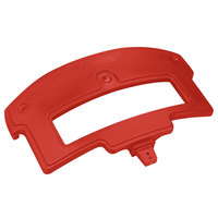 Carlisle 776005 Red Sneeze Guard Post for Maximizer Food Bar