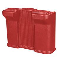 Carlisle 668805 Red Youth Food Bar Leg for Six Star Portable Food Bar