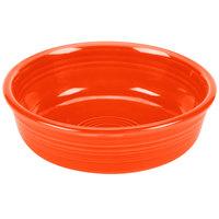 Homer Laughlin 460338 Fiesta Poppy 14.25 oz. Small Nappie Bowl - 12/Case