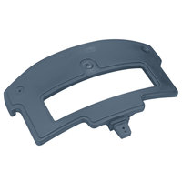 Carlisle 776059 Slate Blue Sneeze Guard Post for Maximizer Food Bar