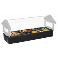 Carlisle 660203 Six Star Black Basin for 4' Portable Food Bar