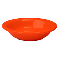 Homer Laughlin 459338 Fiesta Poppy 6.25 oz. Fruit Bowl / Monkey Dish - 12/Case