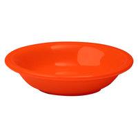 Homer Laughlin 459338 Fiesta Poppy 6.25 oz. Fruit Bowl / Monkey Dish - 12/Case