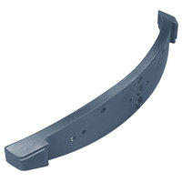 Carlisle 776159 Slate Blue Sneeze Guard Cap for Maximizer Food Bar