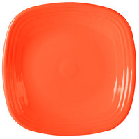Homer Laughlin 919338 Fiesta Poppy 10 3/4 inch Square Plate - 12/Case