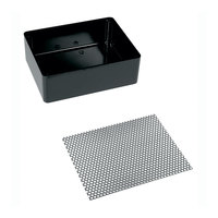Bunn 03202.0001 Drip Tray Assembly with 1 5/8 inch Diameter Legs for RWS1 Server Warmers