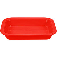 Homer Laughlin 963338 Fiesta Poppy 9 inch x 13 inch Rectangular Baker - 2/Case