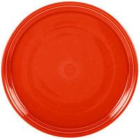 Homer Laughlin 505338 Fiesta Poppy 15 inch Baking Tray - 4/Case