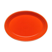 Homer Laughlin 456338 Fiesta Poppy 9 5/8 inch Platter - 12/Case