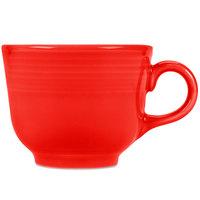 Homer Laughlin 452338 Fiesta Poppy 7.75 oz. Cup - 12/Case