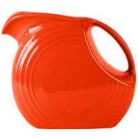 Fiesta Tableware from Steelite International HL484338 Poppy 2.1 Qt. Large Disc China Pitcher - 2/Case
