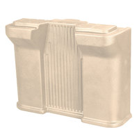 Carlisle 668706 Beige Standard Food Bar Leg for Six Star Portable Food Bar