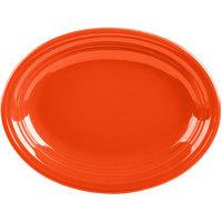 Homer Laughlin 457338 Fiesta Poppy 11 5/8 inch Platter - 12/Case