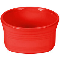 Homer Laughlin 922338 Fiesta Poppy 20 oz. Square Bowl - 12/Case