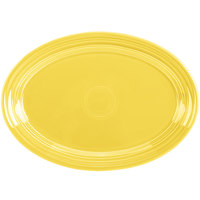 Homer Laughlin 456320 Fiesta Sunflower 9 5/8 inch Small Oval Platter   - 12/Case