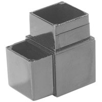 Carlisle 900431 Gray 2 Prong Replacement Sneeze Guard Assembly Block - 2/Pack