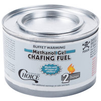 Choice 2 Hour Methanol Gel Chafing Dish Fuel   - 72/Case
