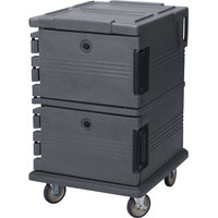 Cambro UPC1200191 Granite Gray Camcart Ultra Pan Carrier - Front Load