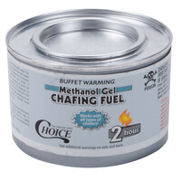 Choice Gel Chafing Fuel Methanol - 2 Hour - 12 / Pack
