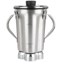 Waring 704350 1 Gallon Blender Container with Stainless Steel Lid