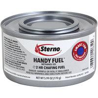 Sterno 20660 2 Hour Handy Fuel Methanol Gel Chafing Fuel - 72/Case