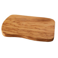 American Metalcraft OWB107 10 inch x 7 inch Olive Wood Entree Board