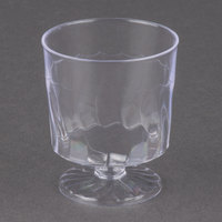Fineline Flairware 2202 2 oz. Clear Plastic Wine Cup - 240/Case