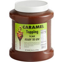 I. Rice 1/2 Gallon Caramel Dessert / Sundae Topping - 6/Case