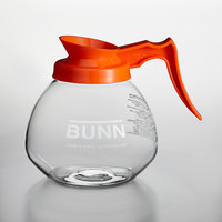 Bunn 42401.0101 64 oz. Glass Decanter with Orange Handle