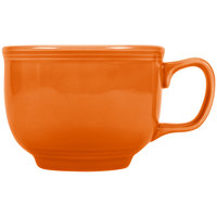 Homer Laughlin 149325 Fiesta Tangerine 18 oz. Jumbo Cup - 12/Case