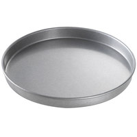 Chicago Metallic 41010 10 inch x 1 inch Aluminized Steel Customizable Round Cake Pan / Pizza Pan
