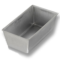 Chicago Metallic 40411 3/8 lb. Single Open Top Bread Pan - 5 1/2 inch x 3 inch x 2 3/16 inch