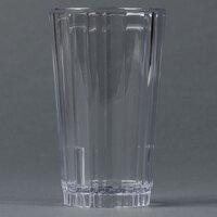 Carlisle 4363307 Clear Lafayette Plastic Tumbler 8 oz. - 36 / Case
