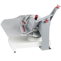 Berkel X13E-PLUS 13 inch Manual Gravity Feed Meat Slicer - 1/2 hp