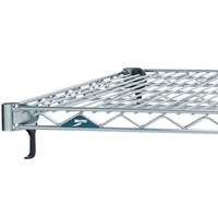Metro A2424NS Super Adjustable Stainless Steel Wire Shelf - 24 inch x 24 inch