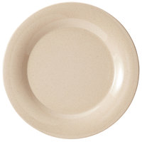 GET BAM-1006 BambooMel 6 1/2 inch Wide Rim Plate - 48/Case