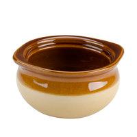 Two Tone 10 oz. Onion Soup China Crock / Bowl - 24 / Case