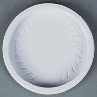Dart Solo MicroGourmet NL8WN-0007 White Recessed Polypropylene Lid - 500 / Case
