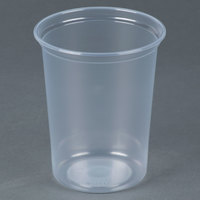 Dart Solo MicroGourmet MN32-0100 32 oz. Contact Clear Polypropylene Deli Container - 500/Case