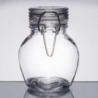 American Metalcraft HMMJ3 3.5 oz. Glass Miniature Hinged Apothecary Jar